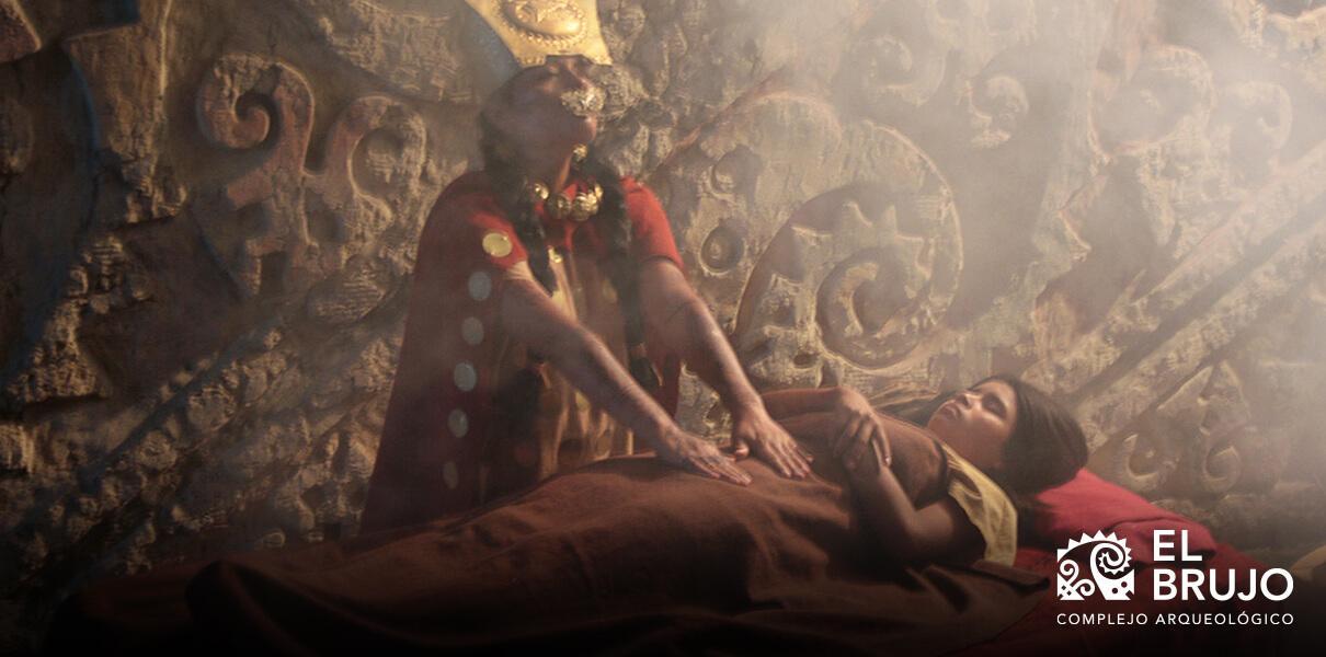 huacas funerarias